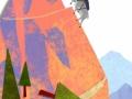 DeWitt mountain goat climbing