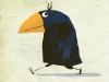 Kawamura Crow walking