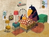 Kawamura crow with mom in bedroom