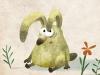 Kawamura rabbit sitting
