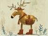 Kawamura reindeer in boots