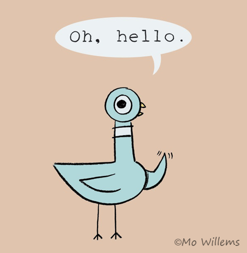 Image result for pigeon mo willems