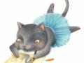 SakiTanaka_drawing cat